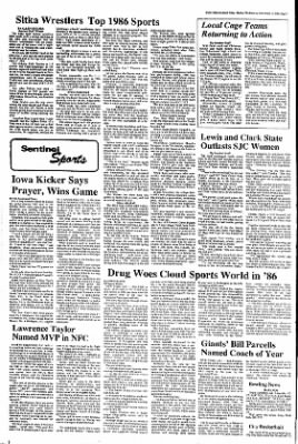 Daily Sitka Sentinel from Sitka, Alaska on December 31, 1986 · Page 7