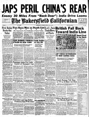 The Bakersfield Californian from Bakersfield, California on