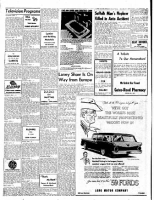 The Gilmer Mirror From Gilmer Texas On December 11 1958 Page 8