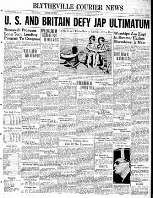 The Courier News from Blytheville, Arkansas on June 22, 1939 · Page 1