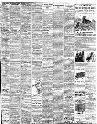 Detroit Free Press from Detroit, Michigan on August 31, 1873 · Page 3