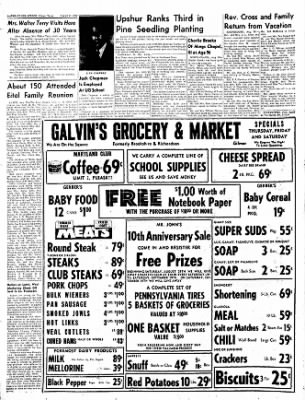 The Gilmer Mirror From Gilmer Texas On August 27 1959 Page 12
