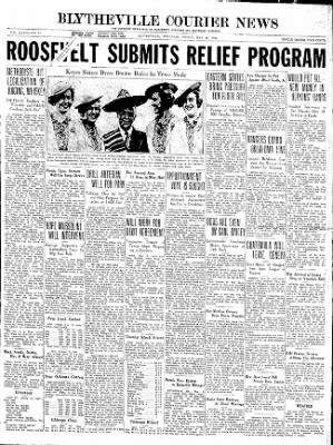 The Courier News from Blytheville, Arkansas on May 15, 1936 · Page 1