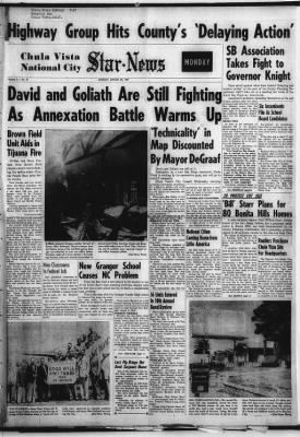 The Star-News from Chula Vista, California on March 25, 1957