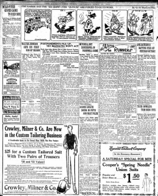 Detroit Free Press From Detroit Michigan On April 27 1918 Page 12