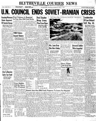 The Courier News from Blytheville, Arkansas on April 4, 1946 · Page 1