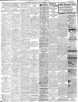 Detroit Free Press From Detroit Michigan On November 4 1906 Page 34