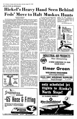 Fairbanks Daily News-Miner from Fairbanks, Alaska on August 18, 1969 · Page 14