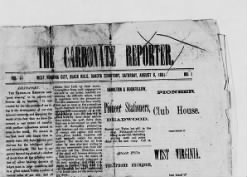 The Carbonate Reporter