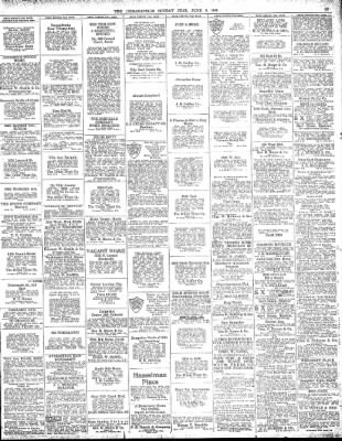 The Indianapolis Star From Indianapolis Indiana On June 6 1920