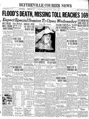 The Courier News from Blytheville, Arkansas on March 4, 1938 · Page 1
