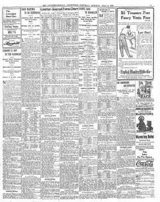 Courier-Journal from Louisville, Kentucky on July 8, 1905 · Page 11