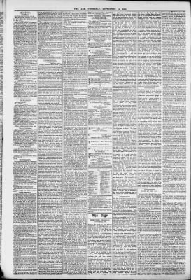 The Age from Melbourne, Victoria, Australia on September 14, 1882