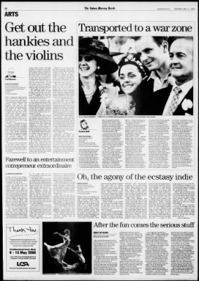 The Sydney Morning Herald from Sydney, New South Wales on May 11, 2000 · Page 16
