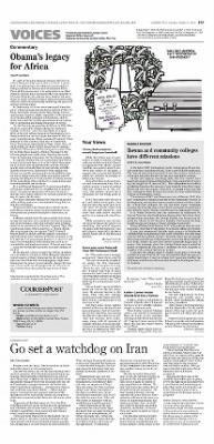 Courier-Post from Camden, New Jersey on August 9, 2015 · Page A19