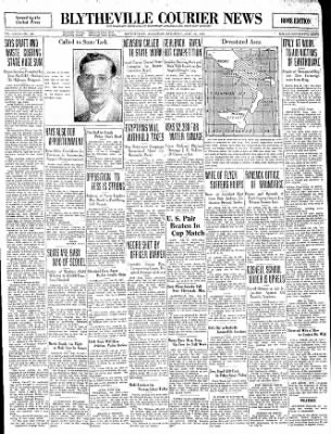 The Courier News from Blytheville, Arkansas on July 26, 1930 · Page 1