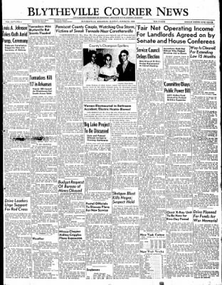 The Courier News from Blytheville, Arkansas on March 28, 1949 · Page 1