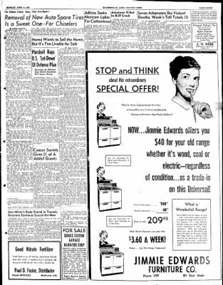 The Courier News from Blytheville, Arkansas on April 9, 1951 · Page 3