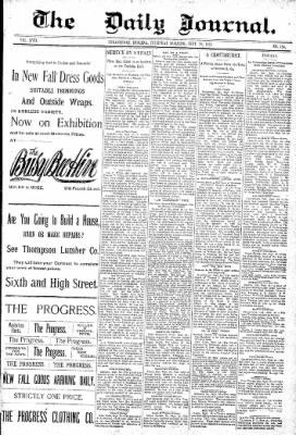 Logansport Pharos-Tribune from Logansport, Indiana on September 29, 1892 · Page 1