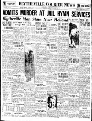 The Courier News from Blytheville, Arkansas on January 29, 1934 · Page 1