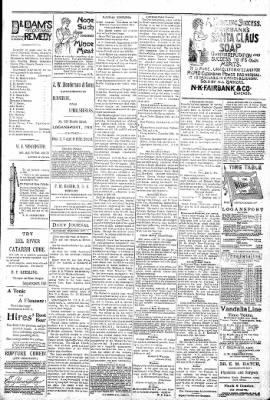 Logansport Pharos-Tribune from Logansport, Indiana on October 1, 1892 · Page 3