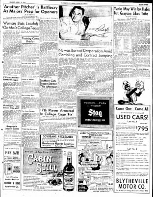 The Courier News from Blytheville, Arkansas on April 13, 1951 · Page 7