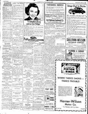 The Courier News from Blytheville, Arkansas on April 14, 1951 · Page 8