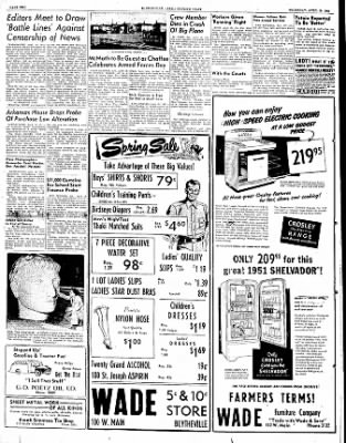 The Courier News from Blytheville, Arkansas on April 19, 1951 · Page 2
