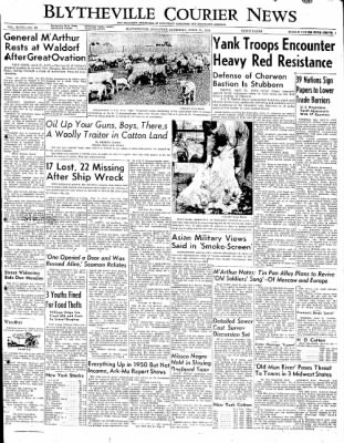 The Courier News from Blytheville, Arkansas on April 21, 1951 · Page 1