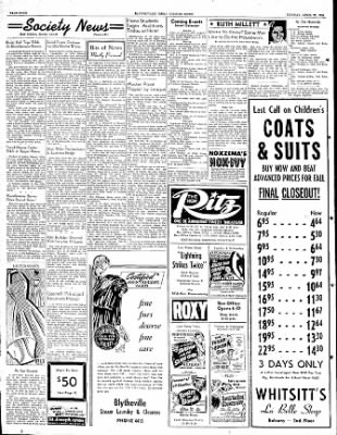 The Courier News from Blytheville, Arkansas on April 23, 1951 · Page 4
