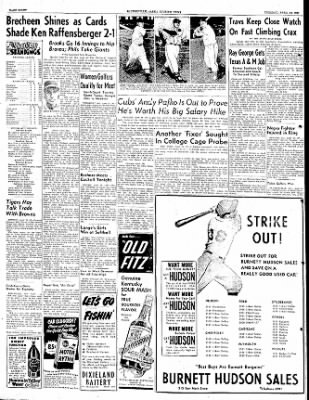 The Courier News from Blytheville, Arkansas on April 24, 1951 · Page 8