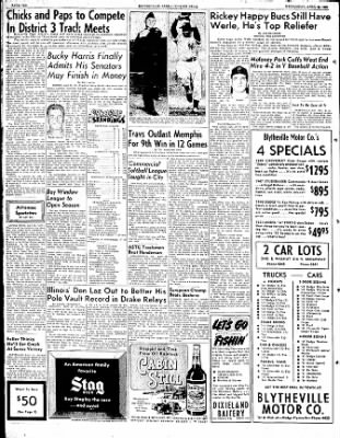 The Courier News from Blytheville, Arkansas on April 25, 1951 · Page 10
