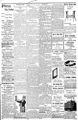 Logansport Pharos-Tribune from Logansport, Indiana on May 23, 1898 · Page 3
