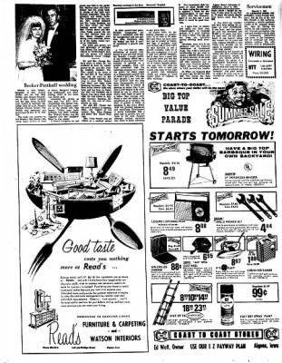 Kossuth County Advance from Algona, Iowa on July 3, 1967 · Page 5