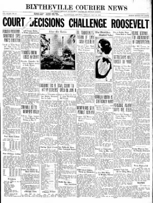 The Courier News from Blytheville, Arkansas on May 19, 1936 · Page 1