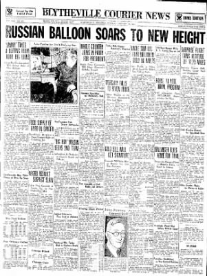 The Courier News from Blytheville, Arkansas on January 30, 1934 · Page 1