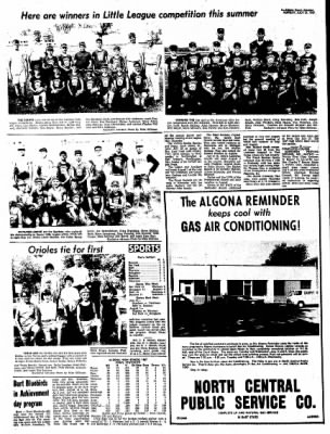 Kossuth County Advance from Algona, Iowa on July 31, 1967 · Page 6