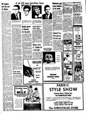 Kossuth County Advance from Algona, Iowa on August 14, 1967 · Page 8