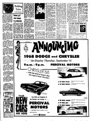 Kossuth County Advance from Algona, Iowa on September 11, 1967 · Page 5