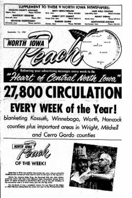 Kossuth County Advance from Algona, Iowa on September 14, 1967 · Page 19