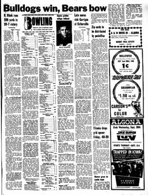 Kossuth County Advance from Algona, Iowa on September 18, 1967 · Page 9