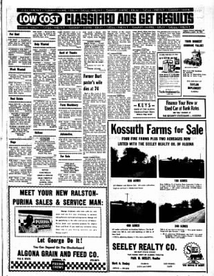 Kossuth County Advance from Algona, Iowa on September 18, 1967 · Page 11