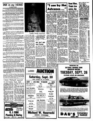 Kossuth County Advance from Algona, Iowa on September 25, 1967 · Page 8