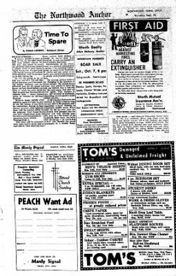 Kossuth County Advance from Algona, Iowa on September 28, 1967 · Page 22