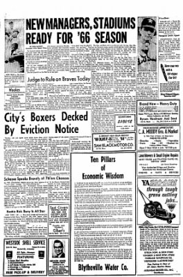 The Courier News from Blytheville, Arkansas on April 12, 1966 · Page 8