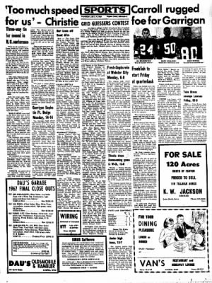 Kossuth County Advance from Algona, Iowa on October 19, 1967 · Page 5