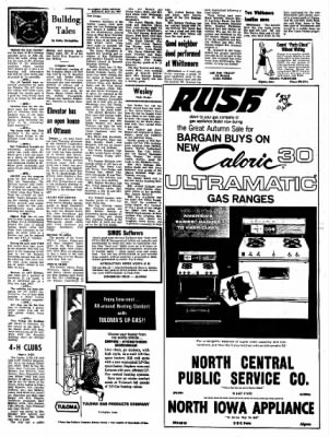 Kossuth County Advance from Algona, Iowa on October 23, 1967 · Page 4
