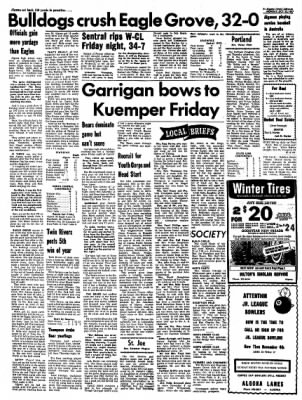Kossuth County Advance from Algona, Iowa on October 23, 1967 · Page 6