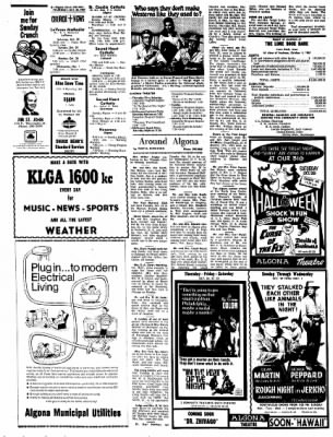 Kossuth County Advance from Algona, Iowa on October 26, 1967 · Page 14