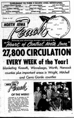 Kossuth County Advance from Algona, Iowa on October 26, 1967 · Page 15